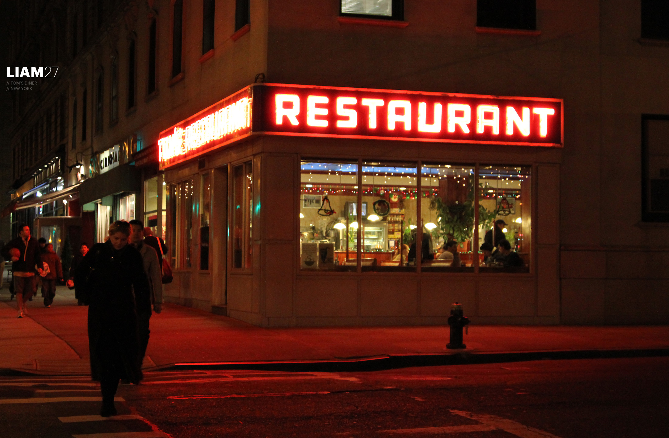 Tom's Diner, New York